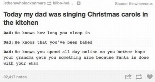 christmas tumblr dad - 8404593920