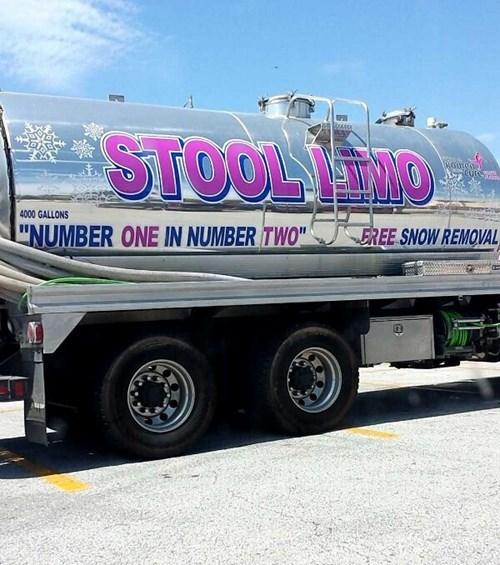monday thru friday poop truck - 8405076224
