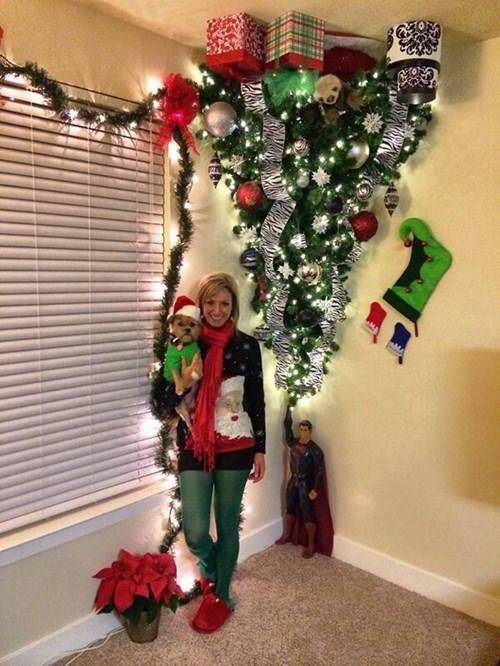 christmas christmas tree tree topper superman - 8405203456