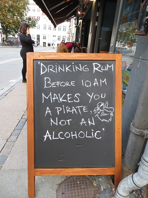 sign pirates pub alcoholic funny