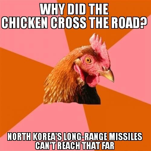 kim jong-un anti joke chicken North Korea - 8405254144