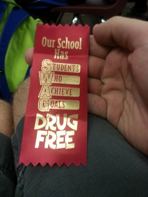 wtf drugs swag funny ribbon - 8405264384