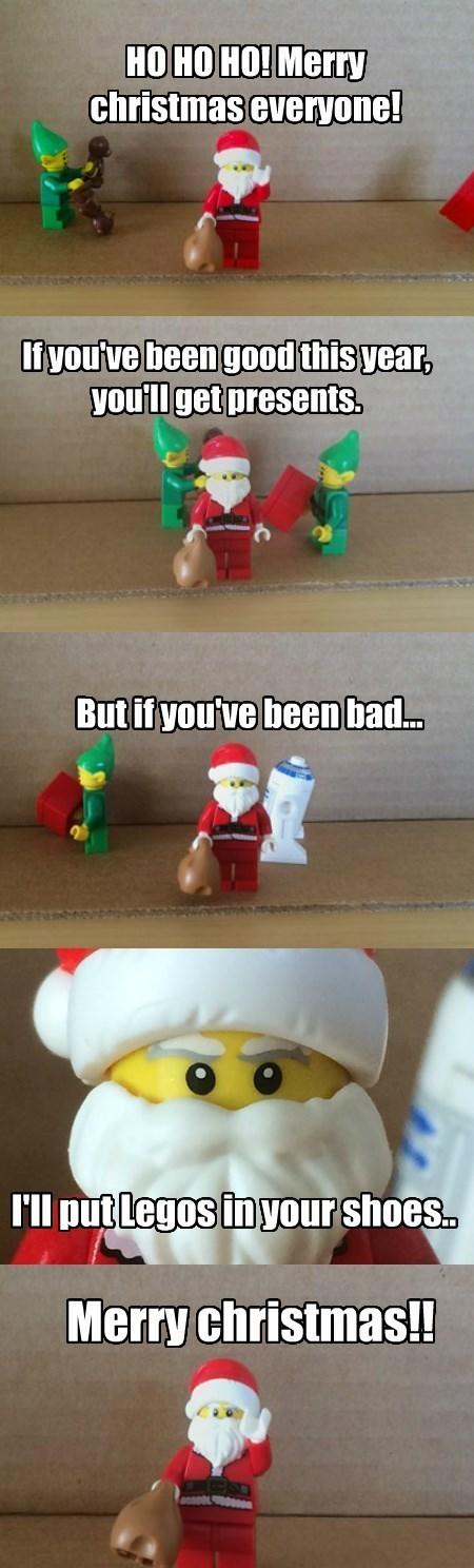 christmas presents lego santa claus - 8405330688
