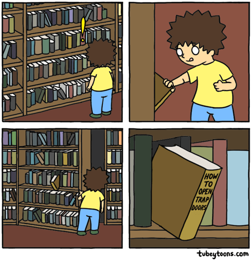 bookshelf secrets web comics - 8405334016