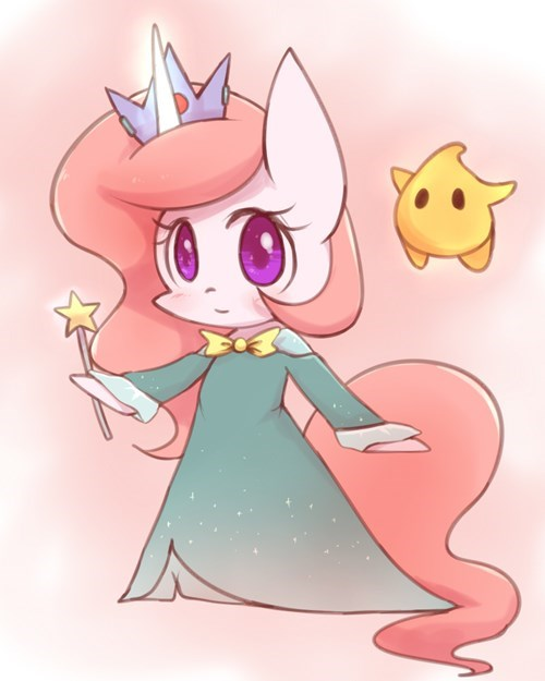 Fan Art,rosalina,ponify,princess celestia