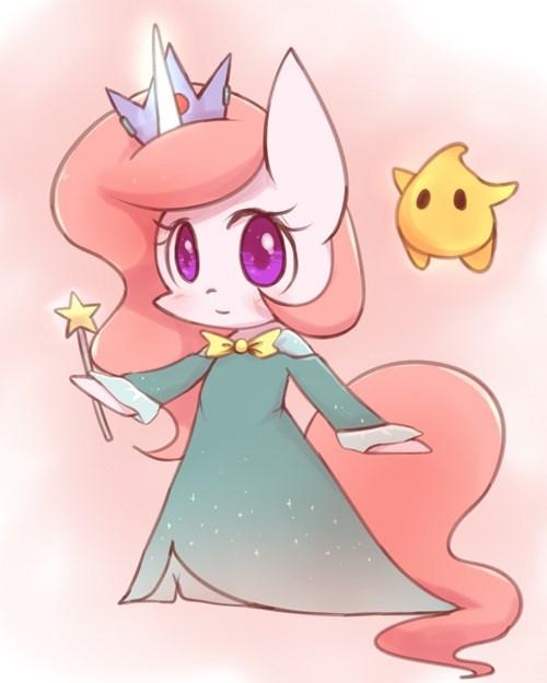 Fan Art rosalina ponify princess celestia - 8405340416
