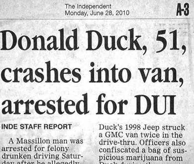 news,donald duck,headline,Probably bad News,name
