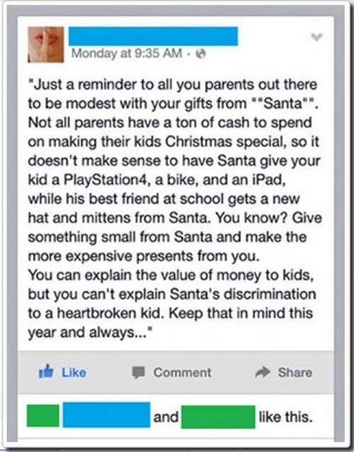 christmas pro tip life hacks santa failbook - 8405401344
