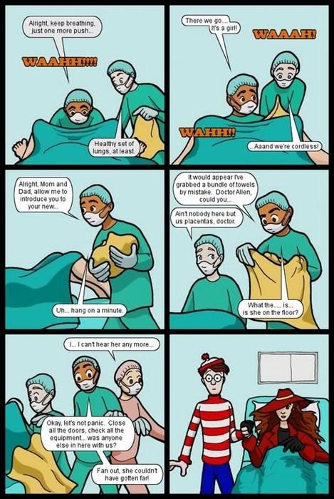 Babies carmen sandiego wheres waldo web comics - 8406003968