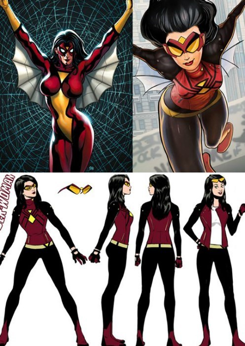costume spiderwoman redesign - 8406033664