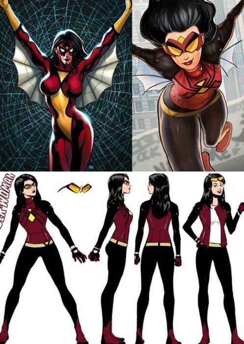 costume spiderwoman redesign - 8406033664