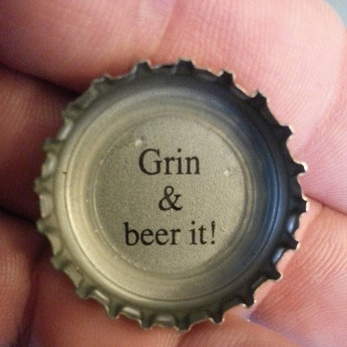 beer grin and bear it funny - 8406134528