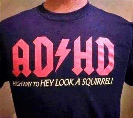 acdc poorly dressed adhd parody t shirts g rated - 8406137344