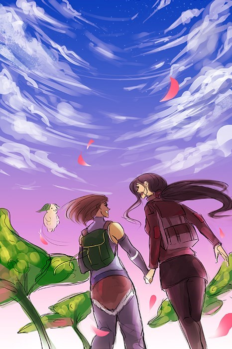 korrasami book 4 series finale Fan Art korra - 8406201344