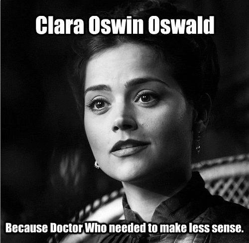 clara oswin oswald plot holes Steven Moffat - 8406252032