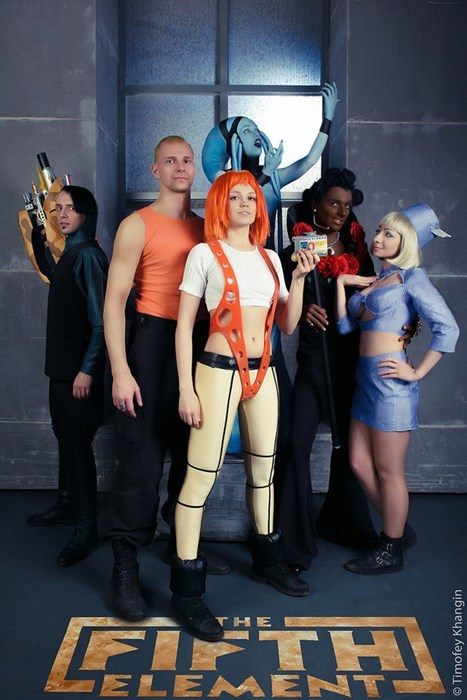 cosplay the fifth element - 8406257920