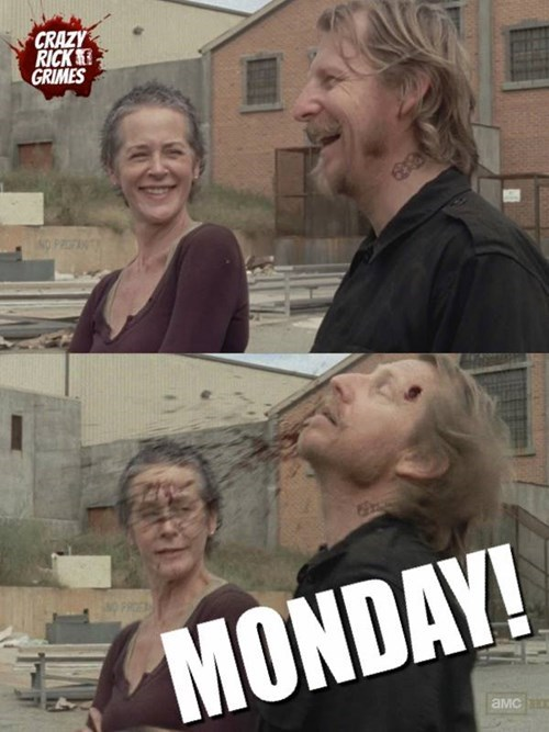 headshot,mondays,The Walking Dead