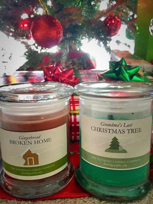 Sad christmas candles - 8406359808