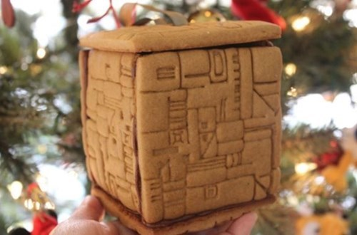 christmas,borg,ornaments,gingerbread,Star Trek