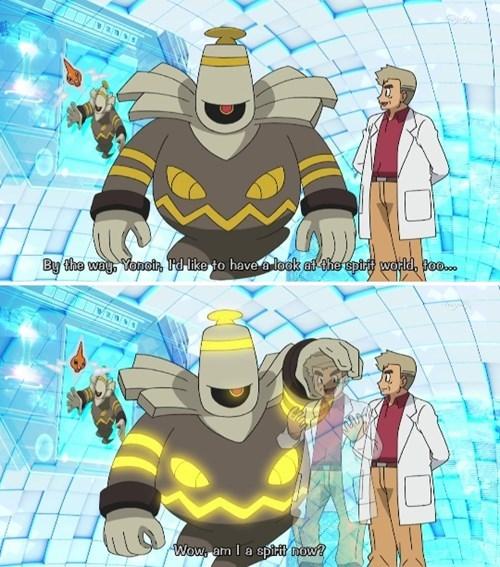 anime professor oak Pokémon dusknoir - 8406825984