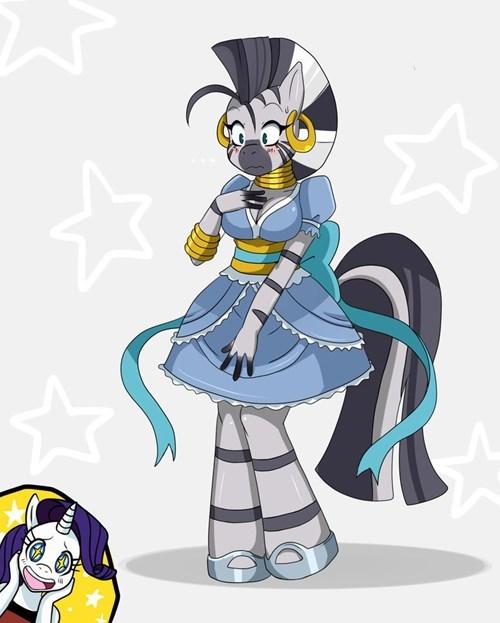 Fan Art zecora dress squee - 8407874048