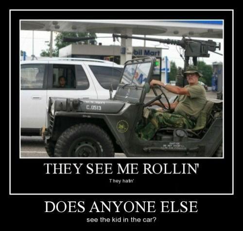 guns wtf cars funny - 8407993344