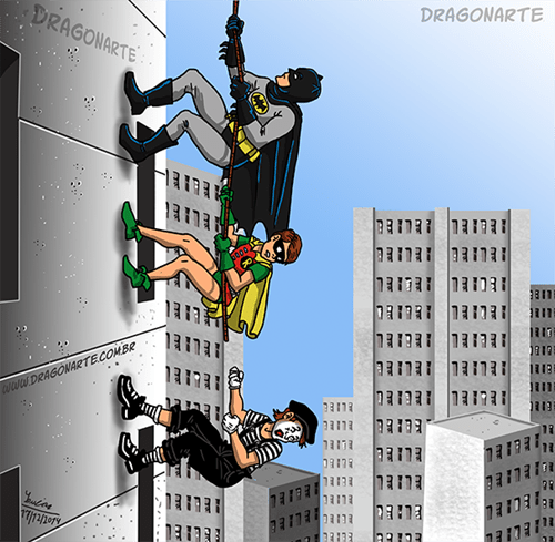 robin mime batman - 8407996672