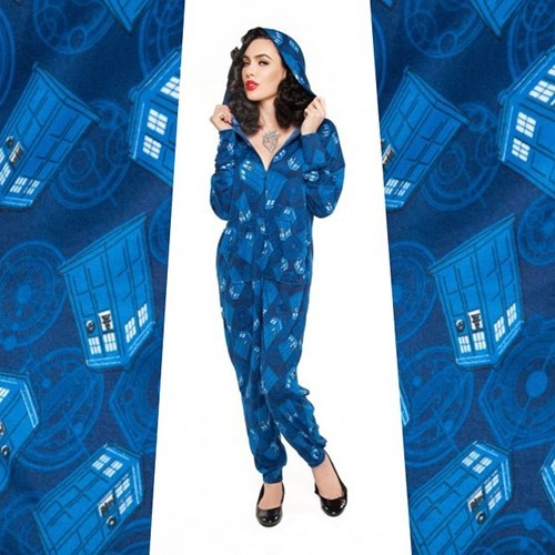 onesie tardis for sale doctor who - 8408000768