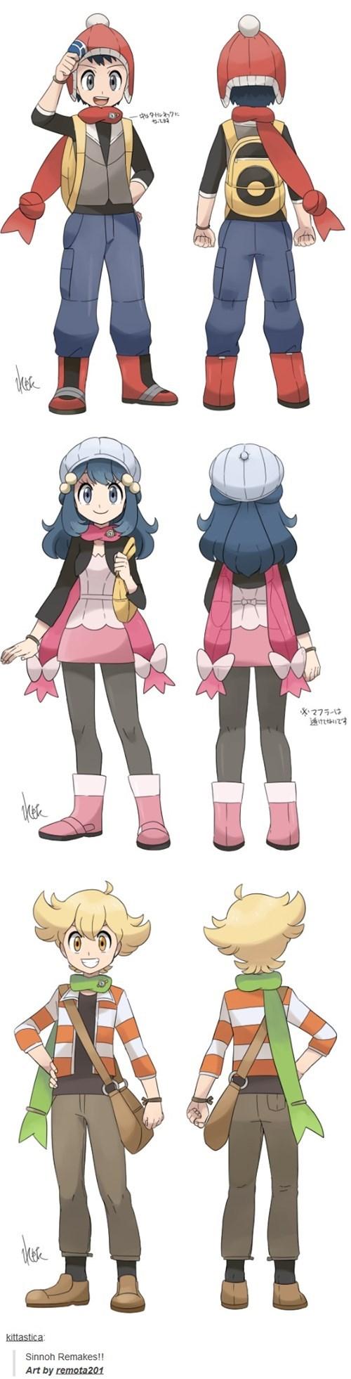 Pokémon remake sinnoh - 8408245248