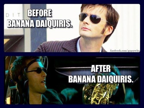 banana 10th doctor Party - 8408360960