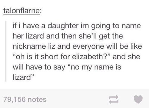 kids parenting lizard name g rated