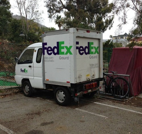 monday thru friday,fedex,small,truck,g rated