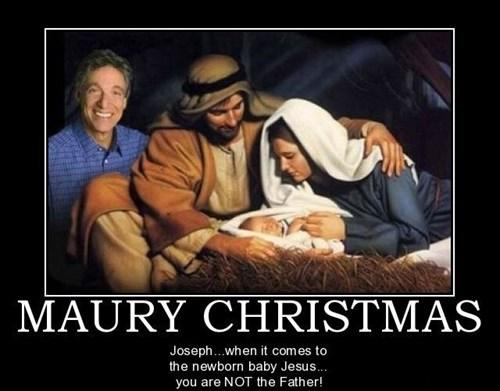 jesus christmas funny maury - 8408478208