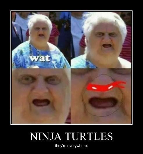 face TMNT ninjas funny - 8408478464