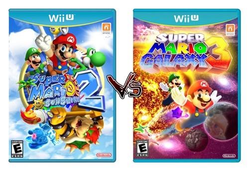 Super Mario Galaxy gaming wii U super mario sunshine - 8408499456