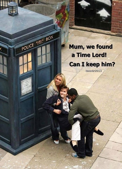 christmas 10th doctor can we keep him - 8408510720