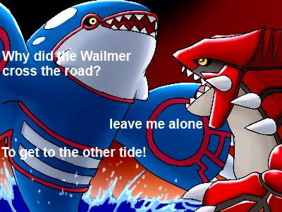 Pokémon jokes kyogre - 8408523008