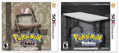 Pokémon chairs tables - 8408532480