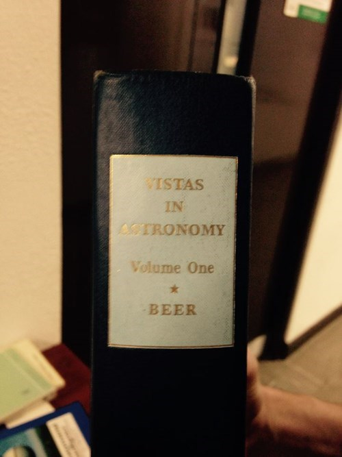 A strange book about astronomy and beer