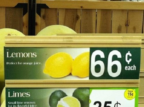sign,whoops,lemons,fruit