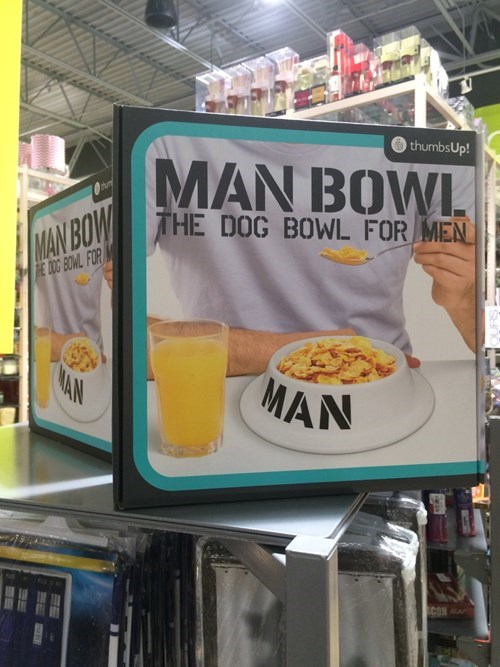 novelty men dog bowl - 8408657152