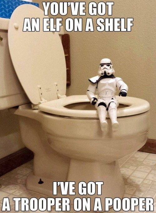 star wars,stormtrooper,elf on the shelf