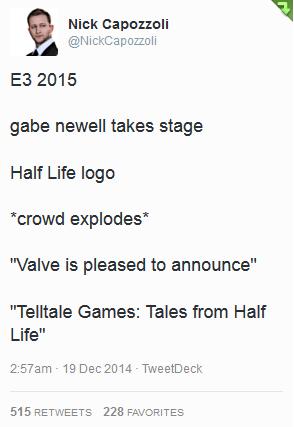 valve twitter telltale games gaben - 8408677888