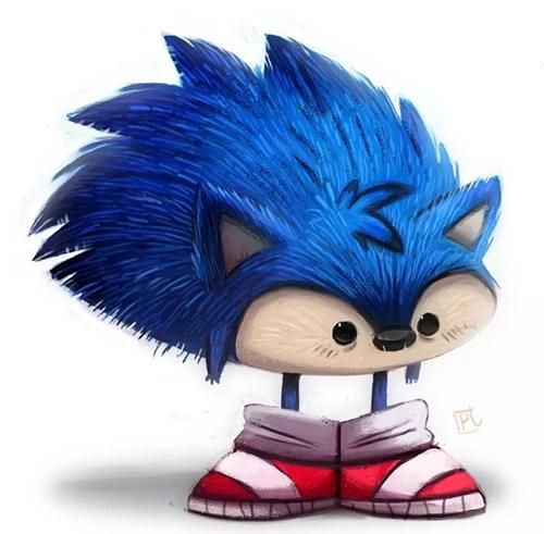 Fan Art sonic the hedgehog - 8408714496