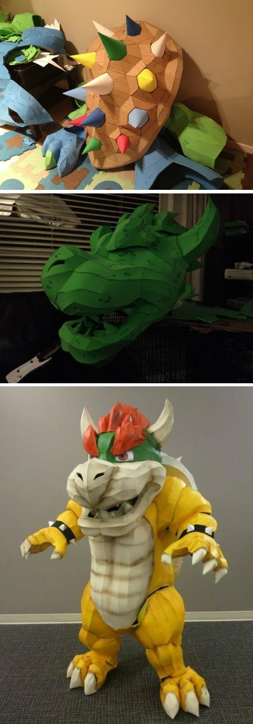 cosplay construction bowser - 8408718080
