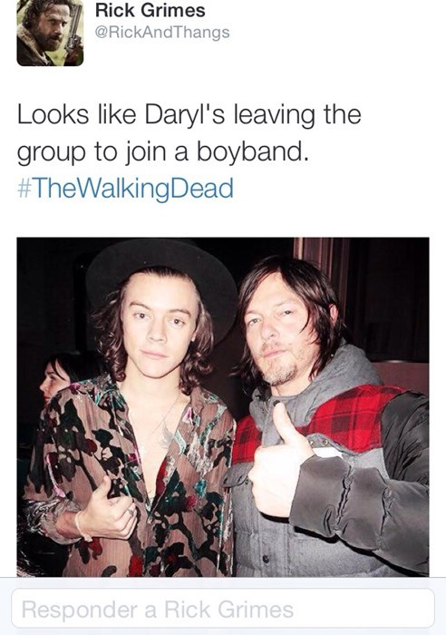 one direction daryl dixon The Walking Dead - 8408728832