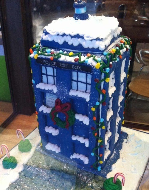 tardis,doctor who,gingerbread