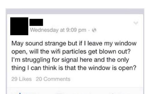 facepalm wifi what science failbook g rated