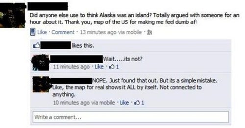 alaska facepalm geography failbook g rated