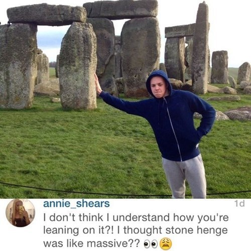 facepalm perspective stonehenge illusion - 8408763648